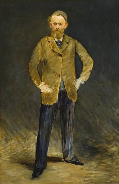 Wall Art - Painting - Self-portrait by Edouard Manet