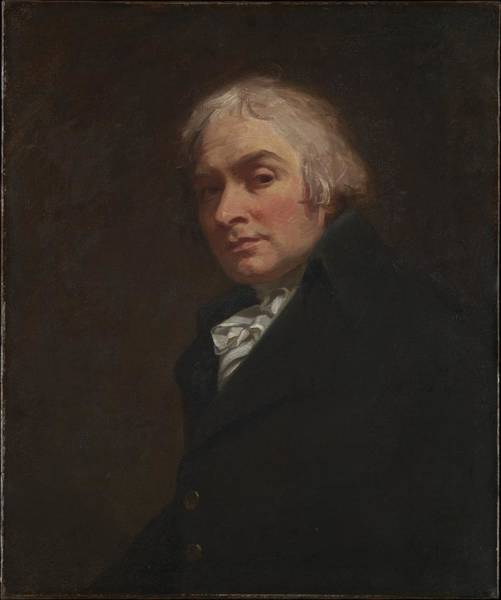 Romney Painting - Self-portrait by George Romney