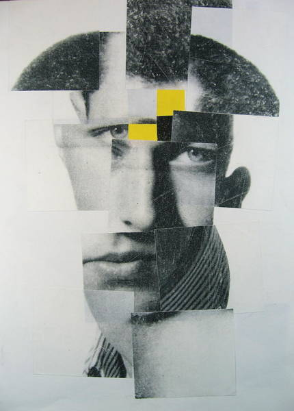Post-it Painting - When I Was Young  I Was So Much Older Then - Im Younger Then That Now by Cliff Spohn