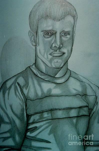 Drawing - Self Portrait by Jon Kittleson