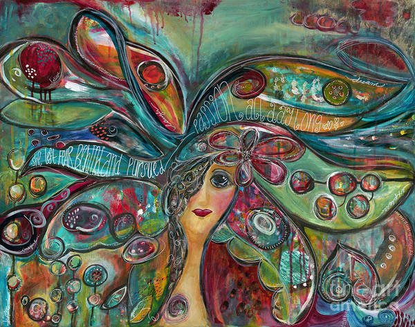 Wall Art - Painting - Self Portrait by Kirsten Reed