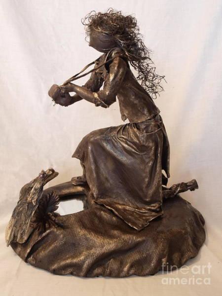 Sculpture - Self Reflection - 1st Photo by Vivian Martin