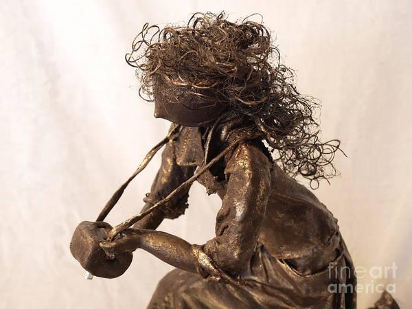 Sculpture - Self Reflection - 2nd Photo by Vivian Martin