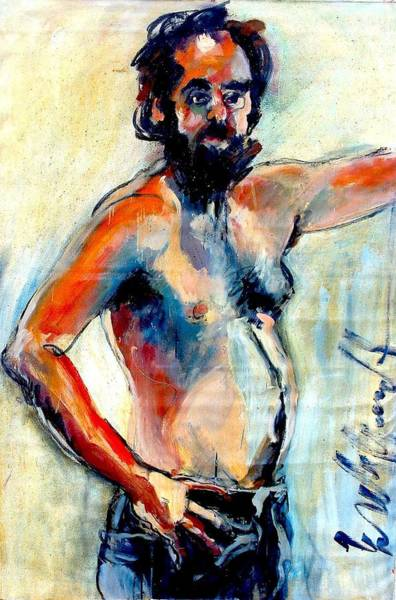Painting - Selfie by Les Leffingwell