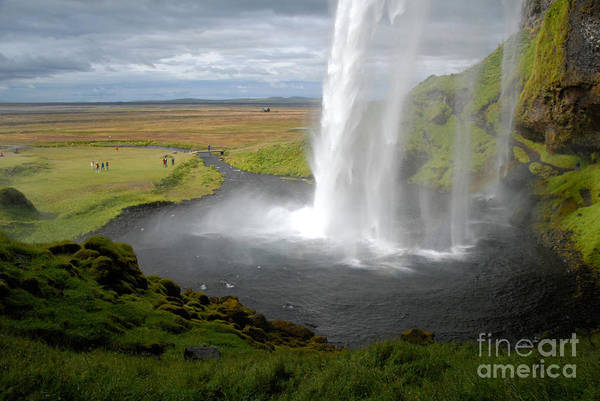 Photograph - Seljalandsfoss Waterfall, Iceland by Ralph C Eagle Jr