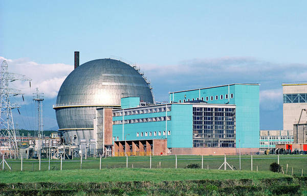 1981 Photograph - Sellafield Wagr Nuclear Reactor by Martin Bond/science Photo Library