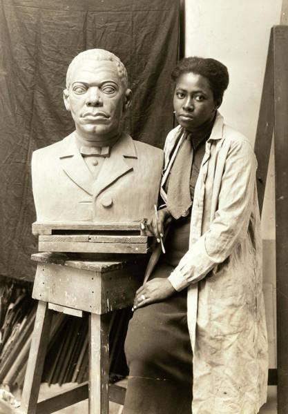 Wall Art - Photograph - Selma Burke (1900-1995) by Granger