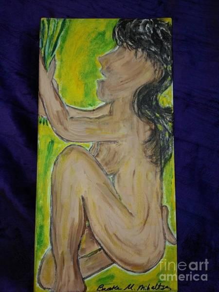 B. Melusine Mihaltses Wall Art - Painting - Selu's Gift Offerings by B Melusine Mihaltses