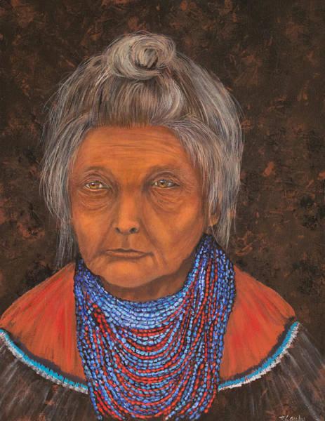 Painting - Seminole Elder by Nancy Lauby