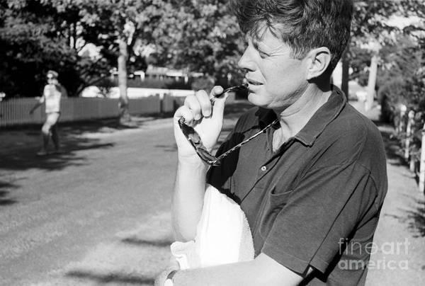 John F Kennedy Photograph - Senator John F. Kennedy And Jacqueline 1959 by The Harrington Collection