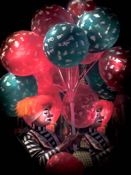 Something Different Photograph - Send In The Clowns by Karen Wiles