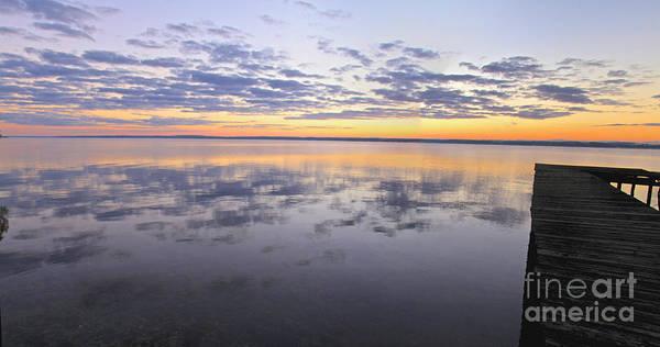 Photograph - Seneca Lake Panorama by William Norton