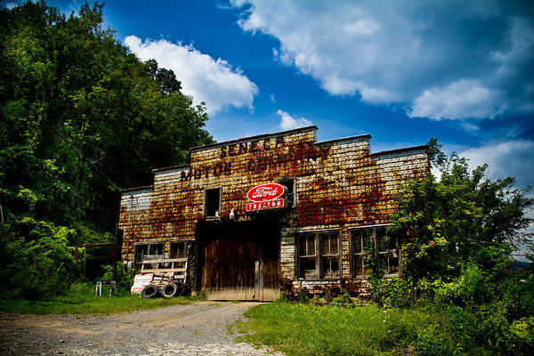 West Virginia Photograph - Seneca Motor Company by Shane Holsclaw