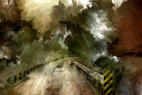 Photograph - Seney Crossing by Evie Carrier