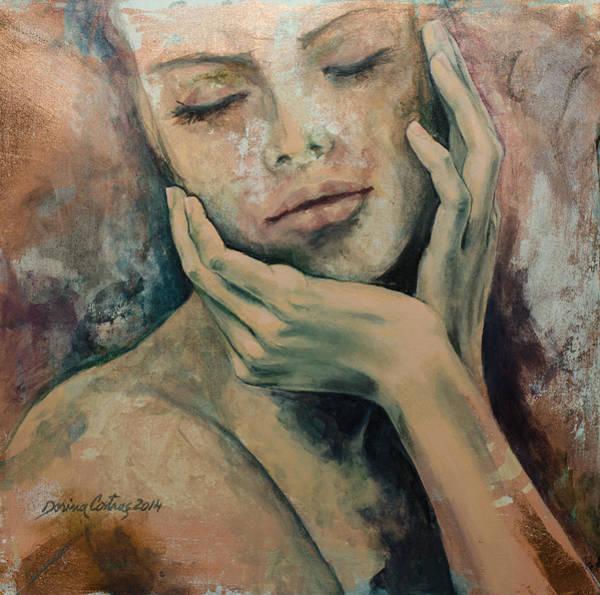 Wall Art - Painting - Sensing... by Dorina  Costras