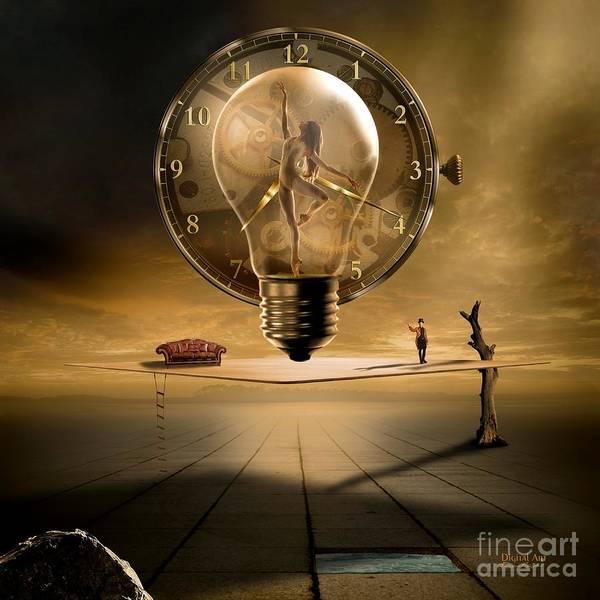 Wall Art - Digital Art - Sensitive Wisdom by Franziskus Pfleghart