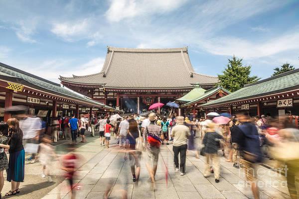 Photograph - Senso-ji Entrance by Didier Marti