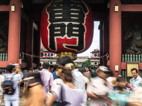 Photograph - Senso-ji Lantern by Didier Marti