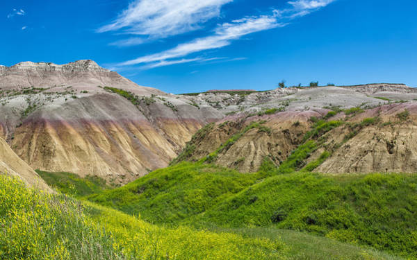 Photograph - Sensory Overload At The Badlands by John M Bailey