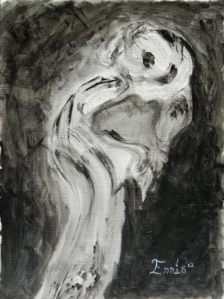 Painting - Sentimental Creeper by Christophe Ennis