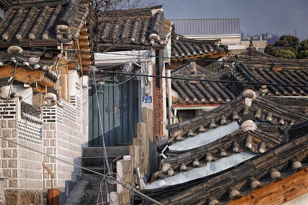 Photograph - Seoul Rooftops by Joan Carroll