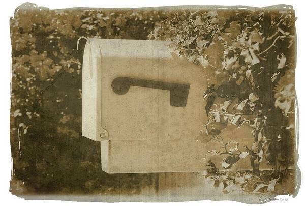 Photograph - Sepia Mailbox by Rudy Umans