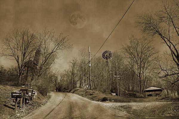Saying Photograph - Sepia Oz by Betsy Knapp
