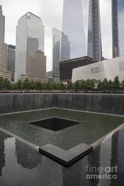 Photograph - September 11 Memorial by Jim West