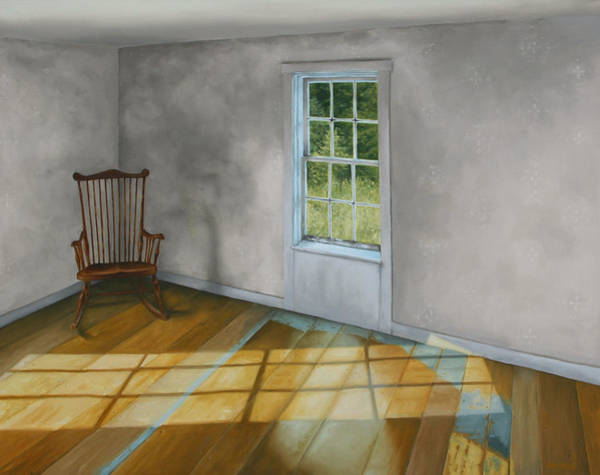 Rocking Chairs Painting - September Afternoon Olson House by Jason Sawtelle