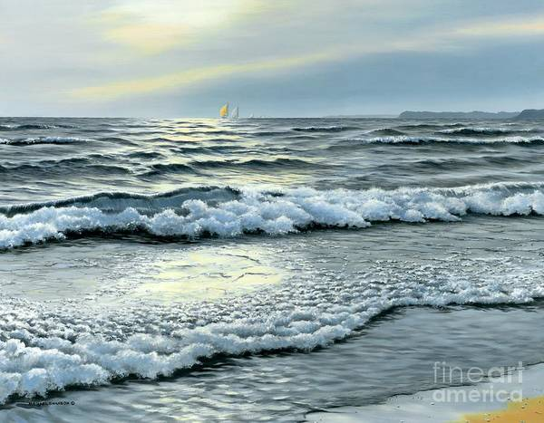 Spinnaker Wall Art - Painting - September Winds by Michael Swanson