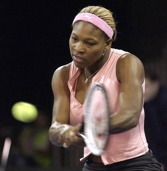 Serena Williams Of The Usa  Art Print by Jamie McDonald