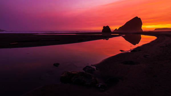 Oregon Coast Photograph - Serenade Flow by Chad Dutson