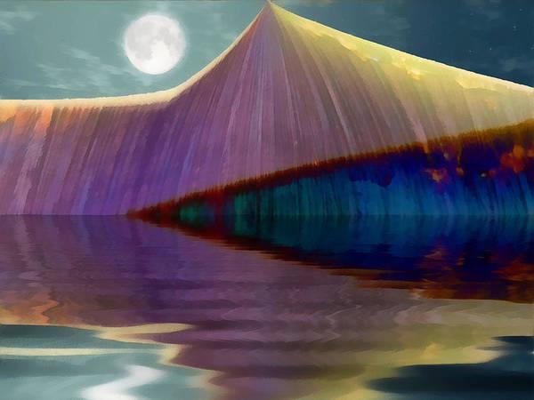 Serendipity Digital Art - Serendipity By Moonlight by Wendy J St Christopher