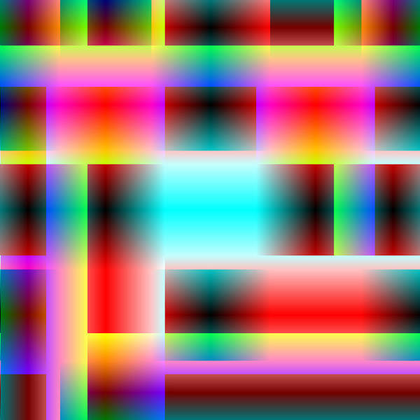 Serendipity Digital Art - Serendipity Clock by Joel Kahn