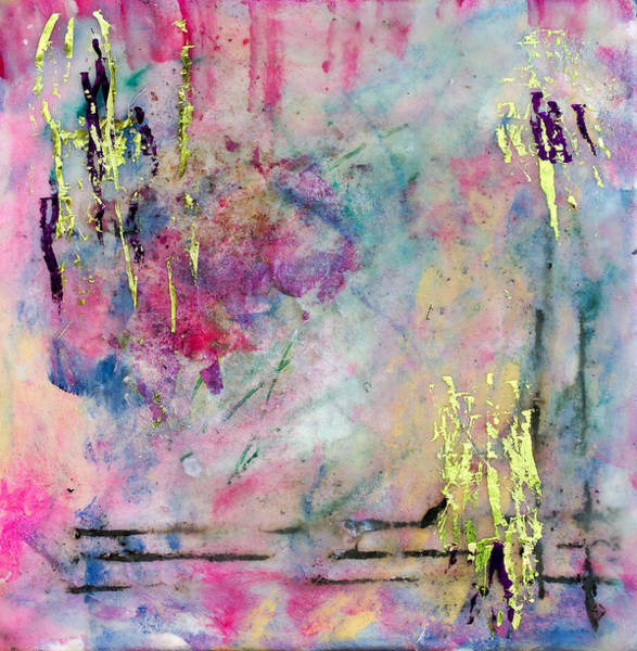 Painting - Serene Mist Encaustic by Bellesouth Studio