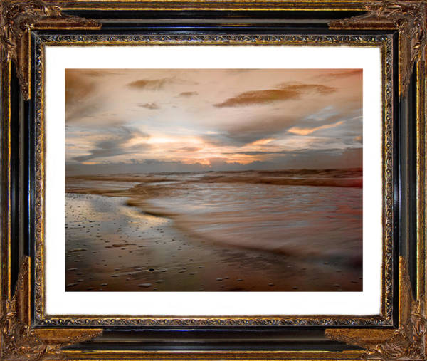 Time Frame Photograph - Serene Sunrise by Betsy Knapp