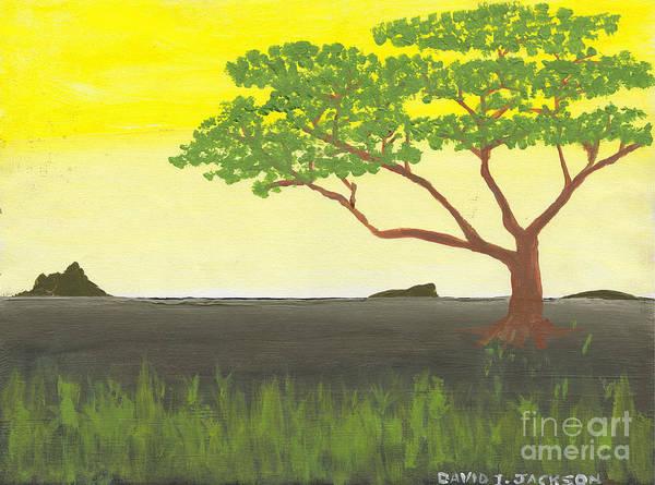 Wall Art - Painting - Serengeti by David Jackson