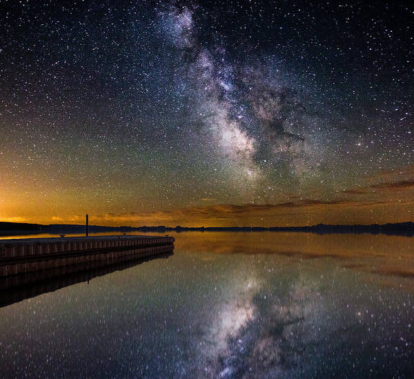 Milky Way Wall Art - Photograph - Serenity by Aaron J Groen