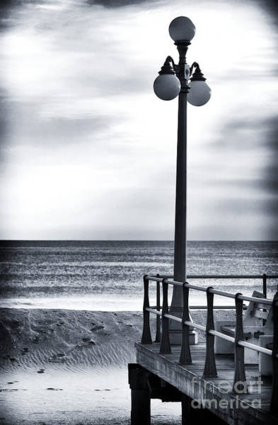 Down The Shore Photograph - Serenity At The Shore by John Rizzuto