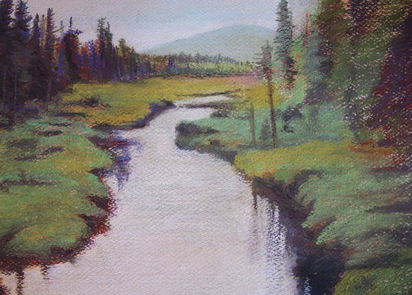 Wall Art - Painting - Serenity by Chrissey Dittus