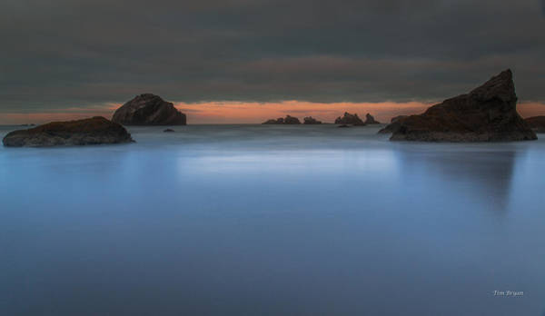 Wall Art - Photograph - Serenity In Blue.... Bandon by Tim Bryan
