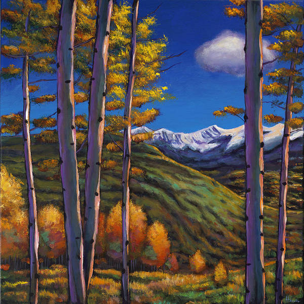 Colorado Landscape Painting - Serenity by Johnathan Harris