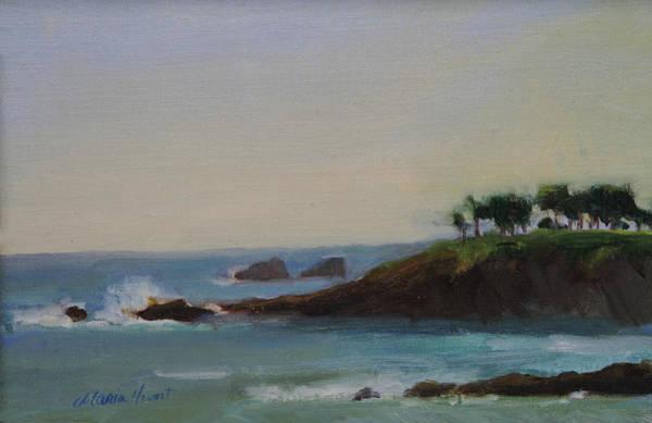 Laguna Beach Painting - Serenity by Maria Hunt