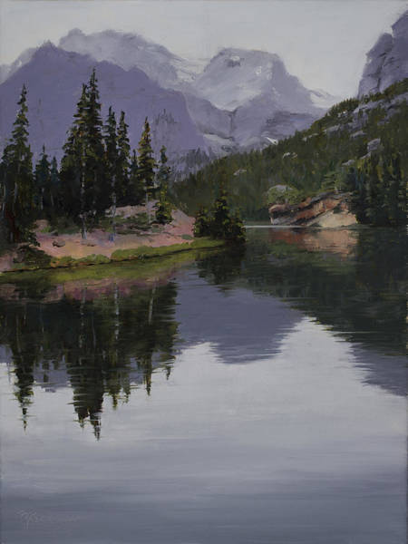 Painting - Serenity by Mary Giacomini