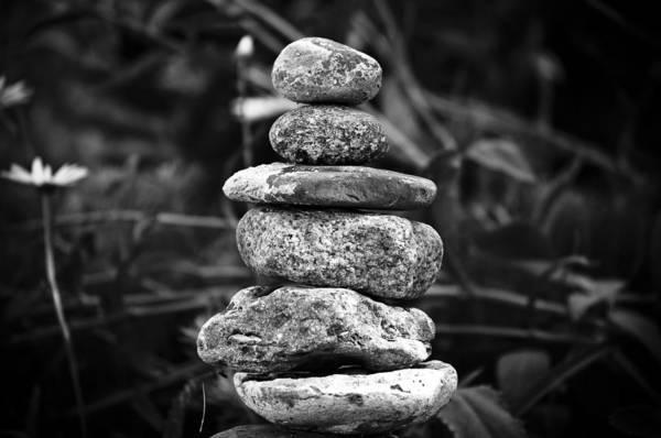 Balancing Rocks Photograph - Serenity by Matthew Blum