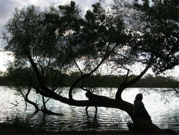 Photograph - Serenity On The River by Digital Art Cafe