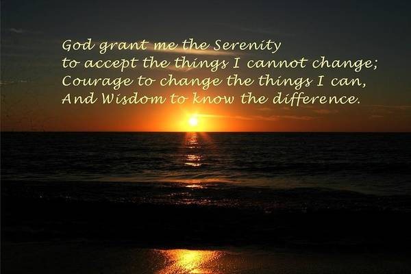 Photograph - Serenity Prayer by The Art of Alice Terrill