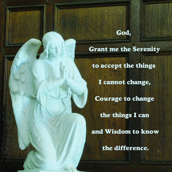 Serenity Prayer Digital Art - Serenity Prayer by Philip Ralley