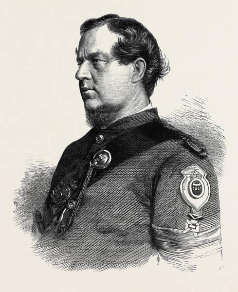 Gold Medal Drawing - Sergeant Lane 1st Gloucester Rifle Volunteers Winner by English School