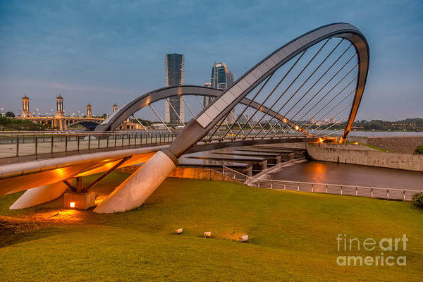 Photograph - Seri Empangan Bridge by Adrian Evans